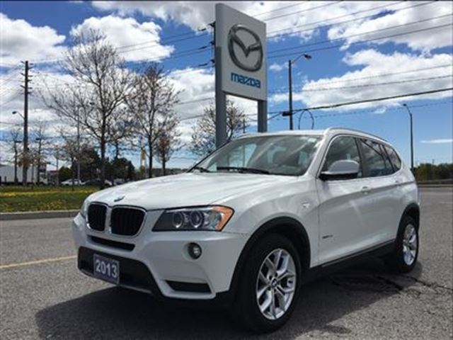 2013 BMW X3 xDrive28i - PANO SUNROOF, ACCIDENT-FREE in Scarborough, Ontario