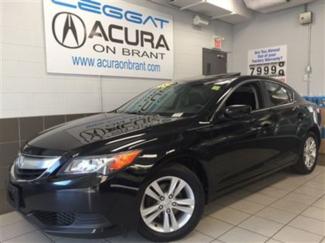2013 ACURA ILX OFFLEASE   1OWNER   BOUGHTHERE   7/130WARRANTY in Burlington, Ontario