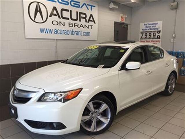 2013 ACURA ILX TECH   NAVI   RATESFROM0.90   OFFLEASE   1OWNER in Burlington, Ontario