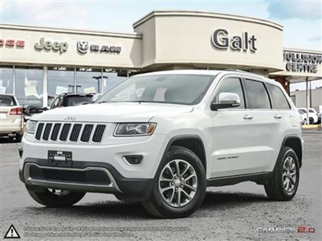 2014 JEEP GRAND CHEROKEE LIMITED   LEATHER   MOONROOF   NAVI in Cambridge, Ontario