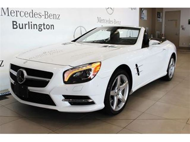 Used 2015 mercedes benz sl550 gas roadster burlington for Mercedes benz st catharines