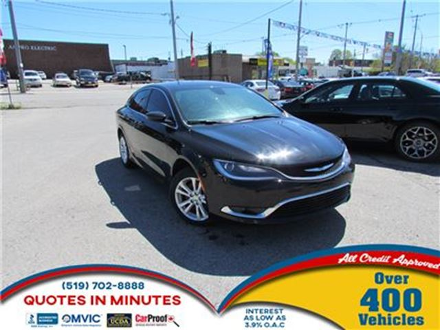 2015 CHRYSLER 200 LIMITED   CLEAN   MUST SEE in London, Ontario