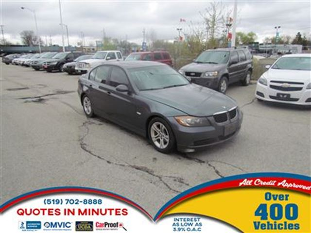 2006 BMW 325 LEATHER   SUNROOF   MANUAL   AS-IS SPECIAL in London, Ontario