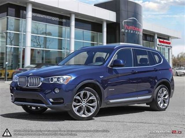 used 2015 bmw x3 i 4 cy xdrive28i mississauga. Black Bedroom Furniture Sets. Home Design Ideas