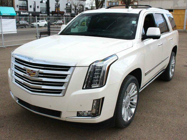 2015 CADILLAC ESCALADE Platinum WHITE DIAMOND EVERY OPTION FINANCE AVAILABLE in Edmonton, Alberta
