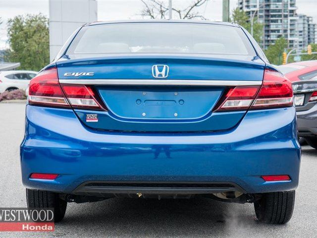 Used 2014 honda civic lx factory warranty until for Honda factory warranty