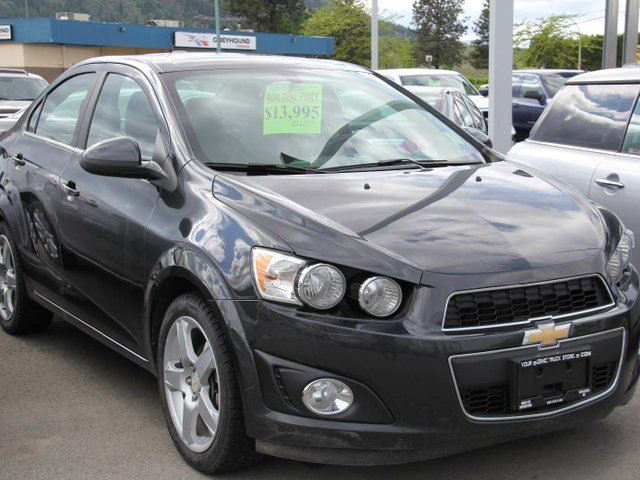 2015 CHEVROLET SONIC LT Auto in Kamloops, British Columbia