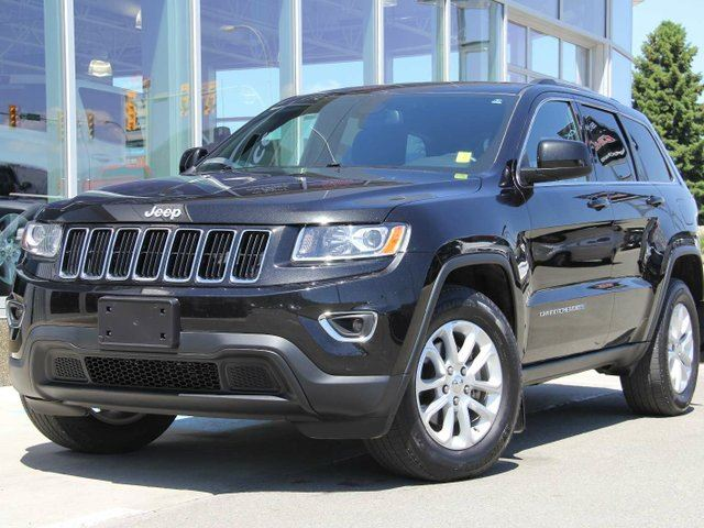 2015 JEEP GRAND CHEROKEE Certified | Laredo | Uconnect Media Player | 4X4 | Bluetooth | Aluminum Wheels in Kamloops, British Columbia