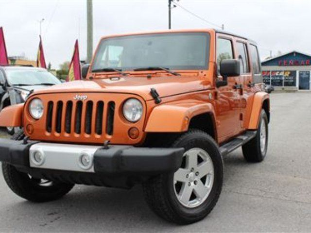 2010 Jeep Wrangler Unlimited Sahara in Delson, Quebec