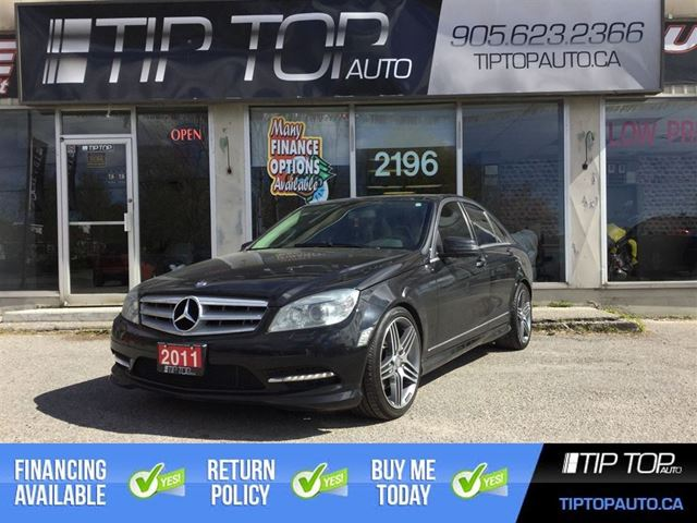 2011 MERCEDES-BENZ C-CLASS 350 ** Nav, 4motion, Pano roof, LOADED ** in Bowmanville, Ontario