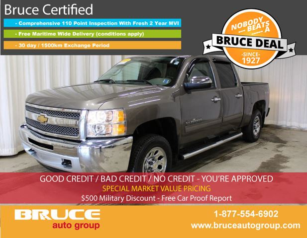 2013 CHEVROLET SILVERADO 1500 LS 4.8L 8 CYL AUTOMATIC 4X4 CREW CAB in Middleton, Nova Scotia
