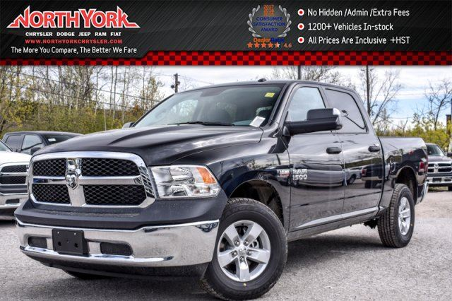 new 2017 ram 1500 new car sxt 4x4 crew backup cam trailer tow mirrors hemi 17alloys. Black Bedroom Furniture Sets. Home Design Ideas