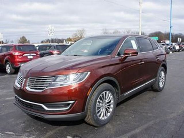 2016 Lincoln MKX AWD in Mississauga, Ontario