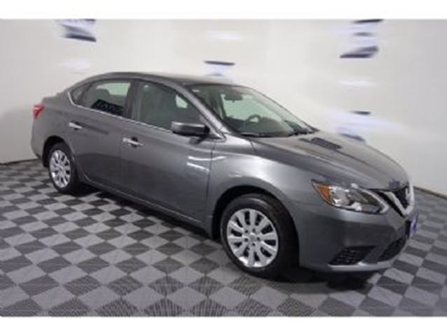 2017 Nissan Sentra 1.8 SV CAMERA, SUNROOF, ALLOY WHEELS, BT, USB, HEATED SEATS in Mississauga, Ontario