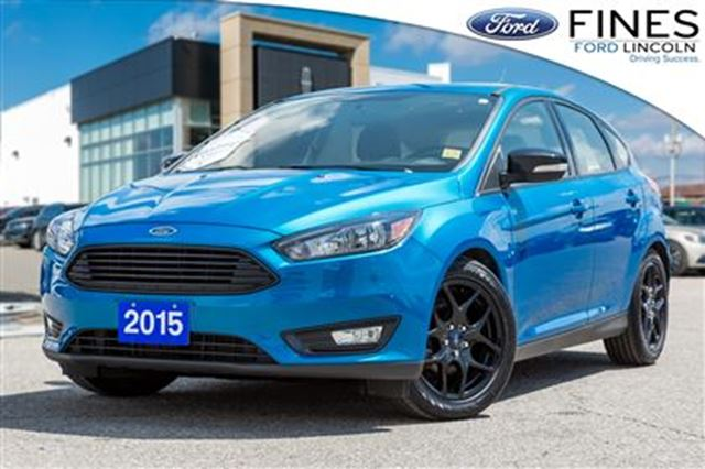 2015 FORD Focus SE - SOLD! LEATHER, ROOF, HEATED SEATS! in Bolton, Ontario