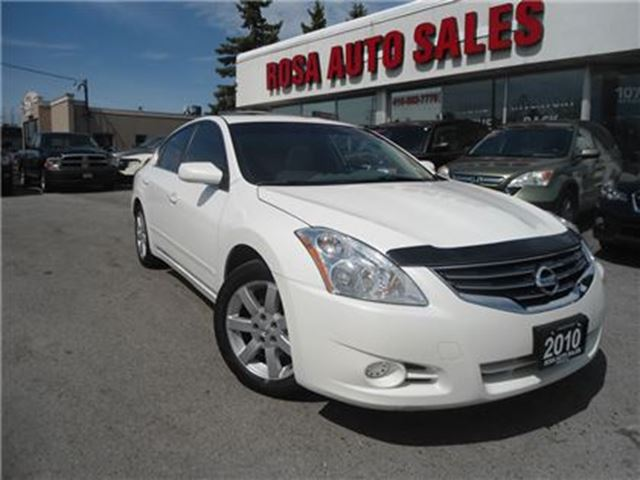 2010 NISSAN ALTIMA 4dr Sdn AUTO SUNROOF ALLOY NO ACCIDENT SAFETY PW P in Oakville, Ontario