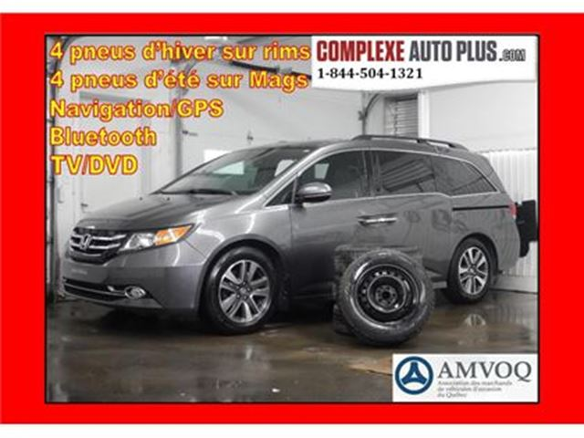 2014 Honda Odyssey Touring *Navi,DVD,Cuir,Toit in Saint-Jerome, Quebec
