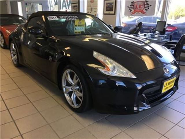 2011 Nissan 370Z Touring, Manual, Navigation,  Convertible, in Burlington, Ontario