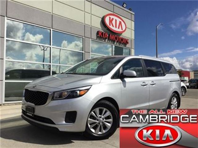 2016 Kia Sedona LX+ KIA CERTIFIED PRE-OWNED in Cambridge, Ontario