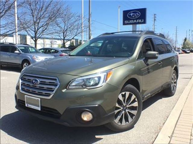 used 2015 subaru outback 3 6r w limited tech pkg mississauga. Black Bedroom Furniture Sets. Home Design Ideas