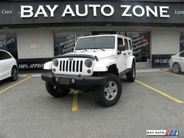 2012 JEEP WRANGLER Unlimited RUBICON+ NAVIGATION+ HEATED SEAT in Toronto, Ontario