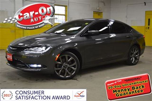 2015 CHRYSLER 200 200S V6 NAVI LOADED in Ottawa, Ontario