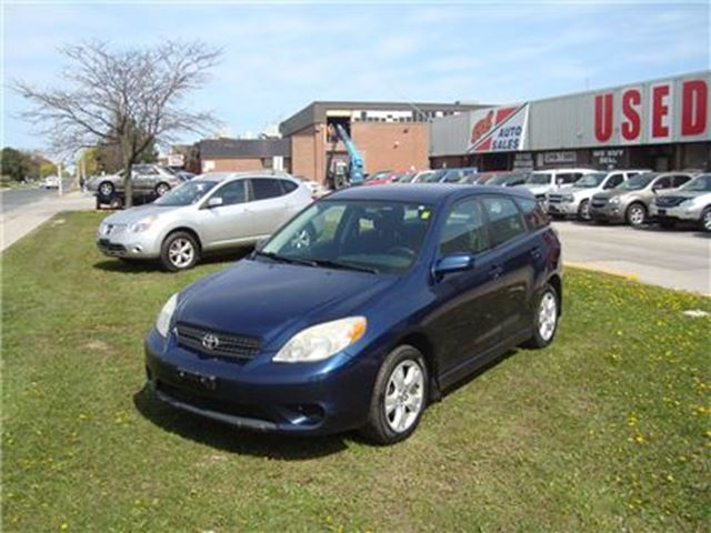 2005 Toyota Matrix XR ~ ALLOY WHEELS ~ POWER OPTIONS ~ CERTIFIED ~ in Toronto, Ontario