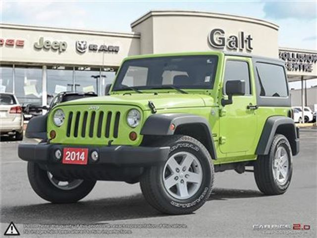 2013 JEEP WRANGLER SPORT   LOCAL TRADE IN   ONLY $206 BI-WEEKLY* in Cambridge, Ontario
