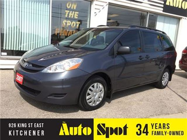 2007 TOYOTA SIENNA CE/LOW, LOW KMS/PRICED FOR A QUICK SALE in Kitchener, Ontario