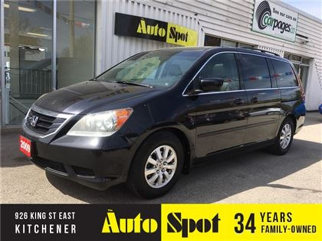 2009 HONDA ODYSSEY EX-L/METICULOUS SERVICE/1 OWNER/TOP OF THE LINE! in Kitchener, Ontario