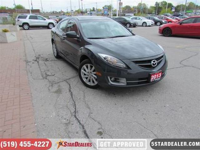 2013 MAZDA MAZDA6 GT   LUXURY PACKAGE   LEATHER   ROOF in London, Ontario