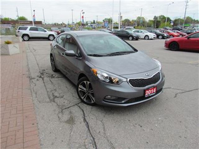 2014 KIA FORTE EX   BACKUP CAM   SUNROOF   SAT RADIO in London, Ontario
