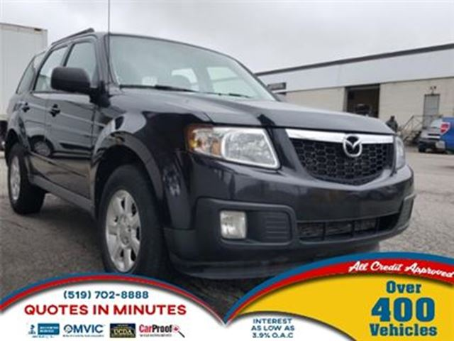2011 MAZDA TRIBUTE GX   ALLOYS   CLEAN   MUST SEE in London, Ontario