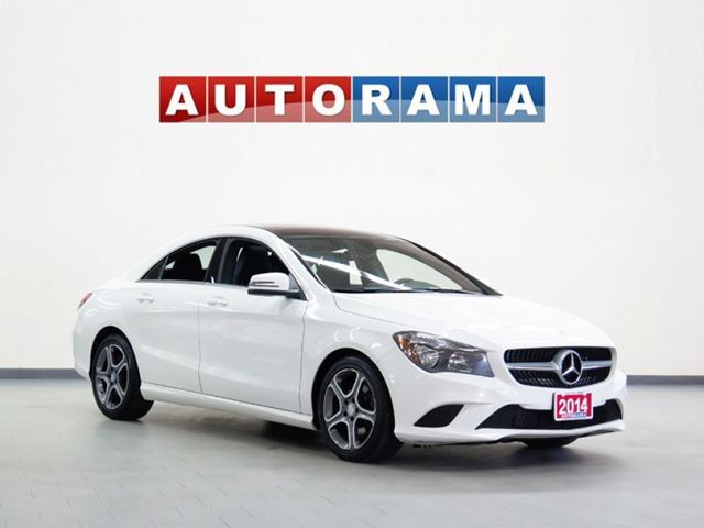 2014 Mercedes-Benz CLA250 LEATHER PANORAMIC SUNROOF AWD BACK UP CAMERA in North York, Ontario