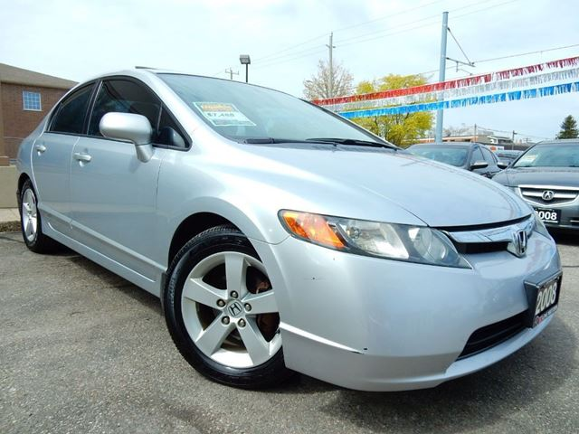 2008 HONDA CIVIC EX-L  LEATHER.ROOF  NO ACCIDENTS in Kitchener, Ontario