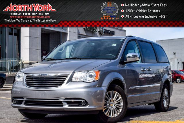 2014 Chrysler Town and Country Limited 7Seat RearDVD Sunroof Nav RearCam ParkSense 17Alloys  in Thornhill, Ontario