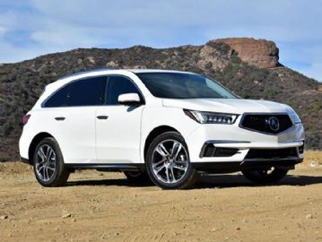 2017 Acura MDX Navigation Package in Mississauga, Ontario