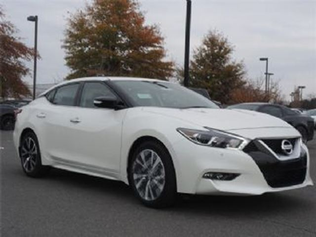 2017 Nissan Maxima 3.5 SV LEATHER,GPS,CAMERA,REMOTE START, ALLOY in Mississauga, Ontario