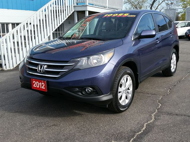2012 HONDA CR-V EX-L AWD **Leather/Sunroof/Reverse Cam** in Barrie, Ontario