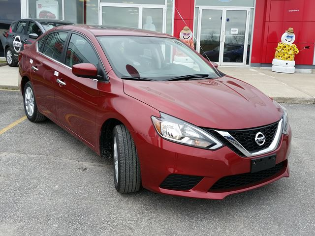 2017 nissan sentra sv orillia ontario car for sale 2775375. Black Bedroom Furniture Sets. Home Design Ideas