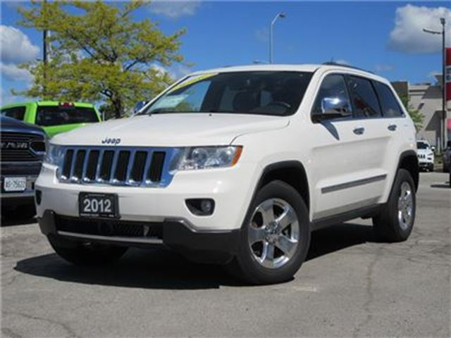 2012 JEEP GRAND CHEROKEE 1 Owner *Limited 4X4* Panoramic roof * Navigation in Woodbridge, Ontario