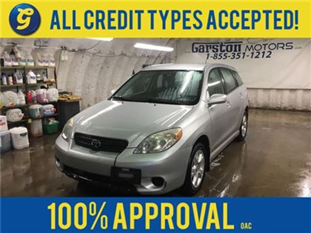2005 Toyota Matrix XR*AWD*AUTO***AS IS CONDITION AND APPEARANCE***** in Cambridge, Ontario