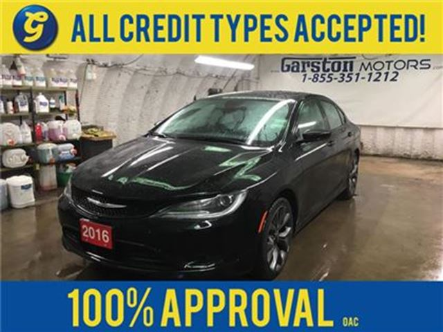 2016 Chrysler 200 S*NAVIGATION*SUNROOF*LEATHER*BACK UP CAMERA*PENTAS in Cambridge, Ontario