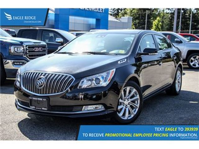 2016 BUICK LACROSSE Leather in Coquitlam, British Columbia