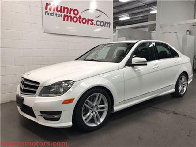 used 2014 mercedes benz c class v 6 cy c300 4matic luxury. Black Bedroom Furniture Sets. Home Design Ideas