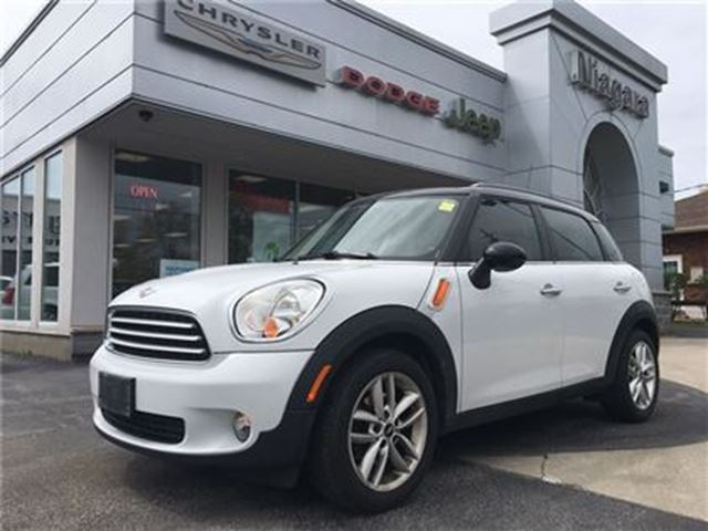 2011 MINI COOPER Countryman LEATEHR,ROOF,HTD SEATS,ALLOYS in Niagara Falls, Ontario