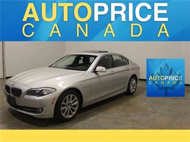 2013 BMW 5 Series xDrive NAVIAGTION MOONROOF in Mississauga, Ontario