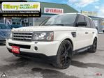2009 Land Rover Range Rover Sport Sport Supercharged. V8. NAV. HEATED SEATS. LUXURY. in Tilbury, Ontario