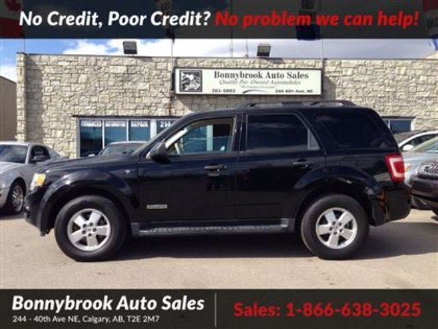 2008 Ford Escape XLT 4X4 W KEYLESS ENTRY in Calgary, Alberta
