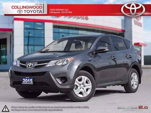 2015 Toyota RAV4 LE AWD SOLD AND SERVICED HERE in Collingwood, Ontario